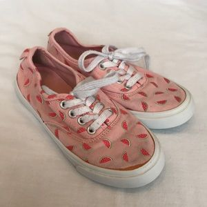 Old Navy Watermelon sneakers. Size 13